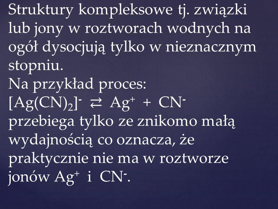 Struktury kompleksowe tj