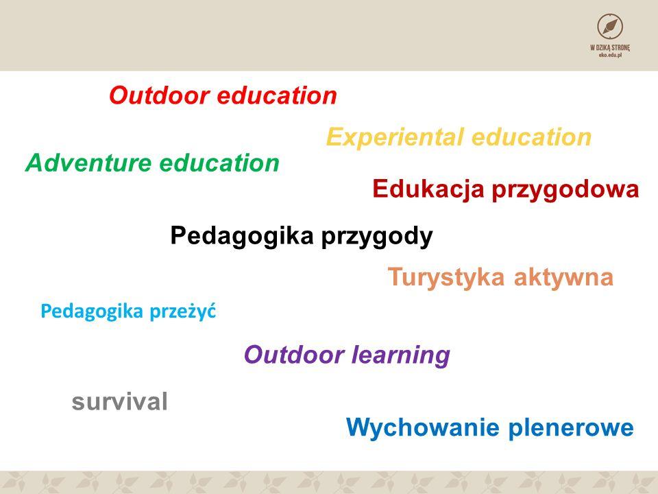 Experiental education Adventure education Edukacja przygodowa