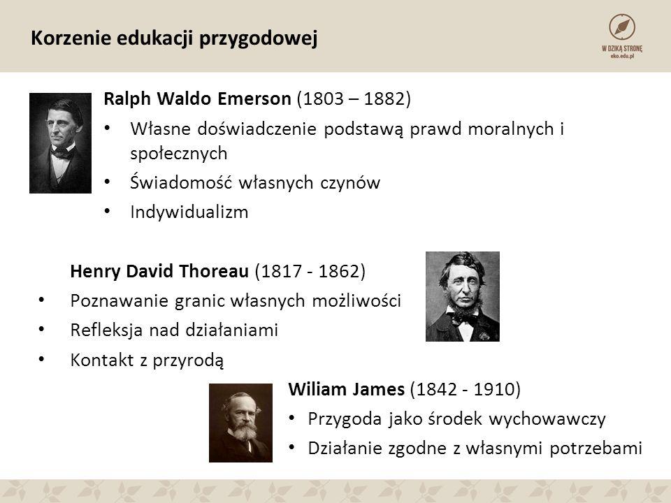 Korzenie edukacji przygodowej