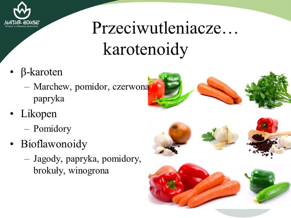 Przeciwutleniacze… karotenoidy