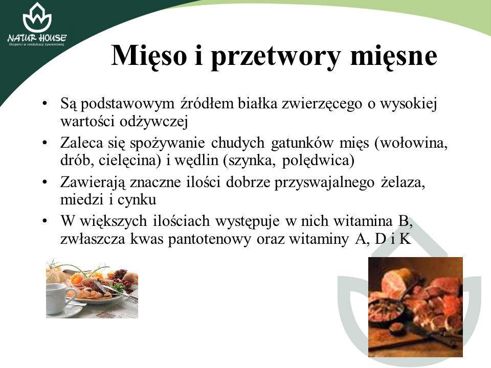 Mięso i przetwory mięsne