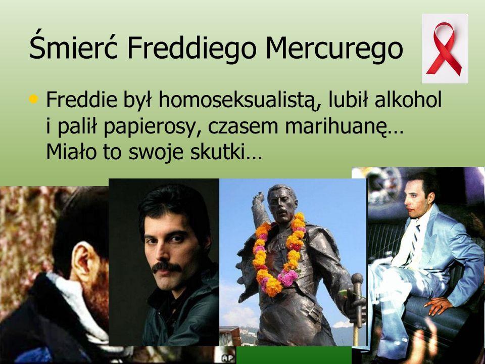 Śmierć Freddiego Mercurego