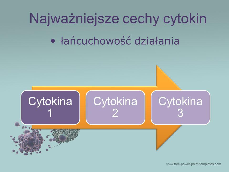 Najważniejsze cechy cytokin