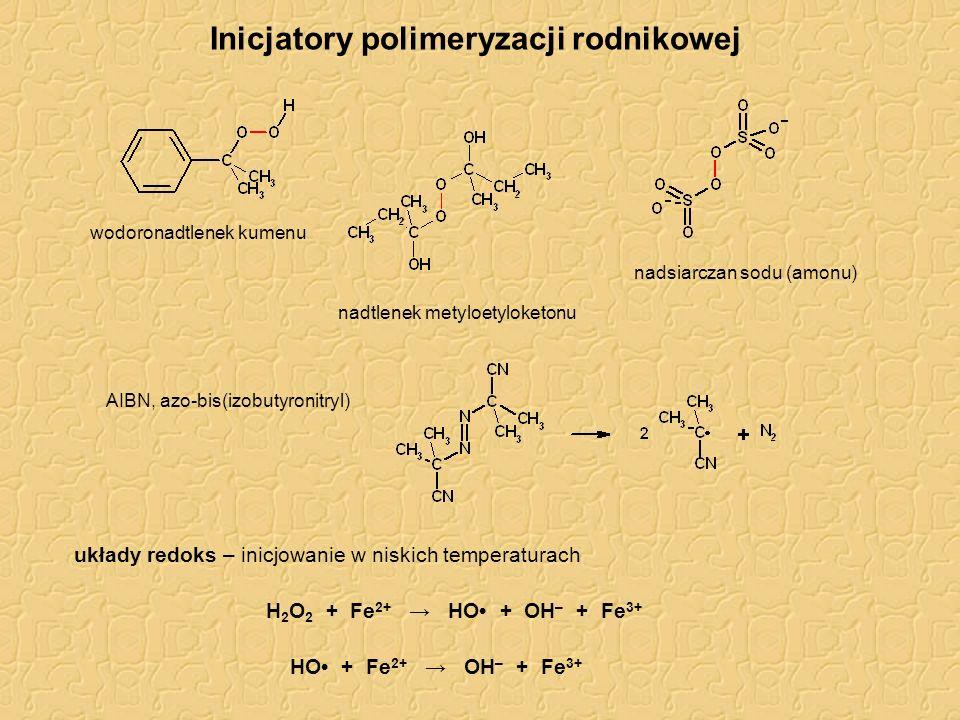 Inicjatory polimeryzacji rodnikowej