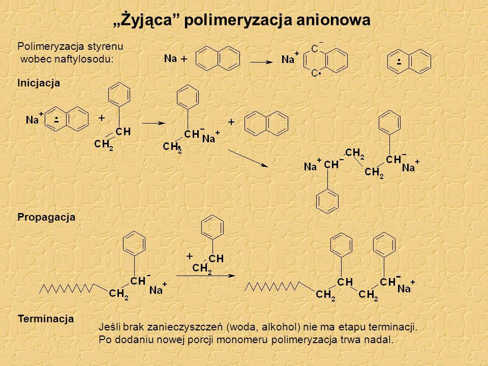 """""""Żyjąca polimeryzacja anionowa"""
