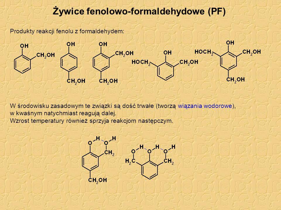 Żywice fenolowo-formaldehydowe (PF)