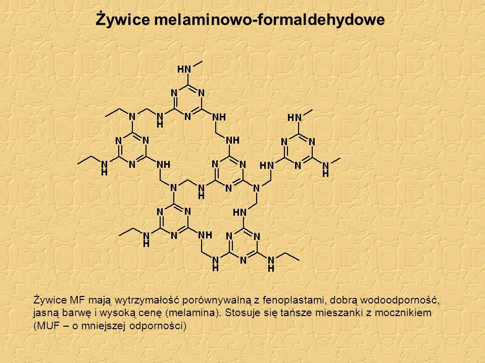 Żywice melaminowo-formaldehydowe