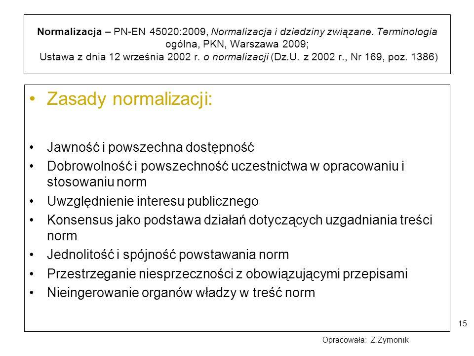 Zasady normalizacji: Jawność i powszechna dostępność