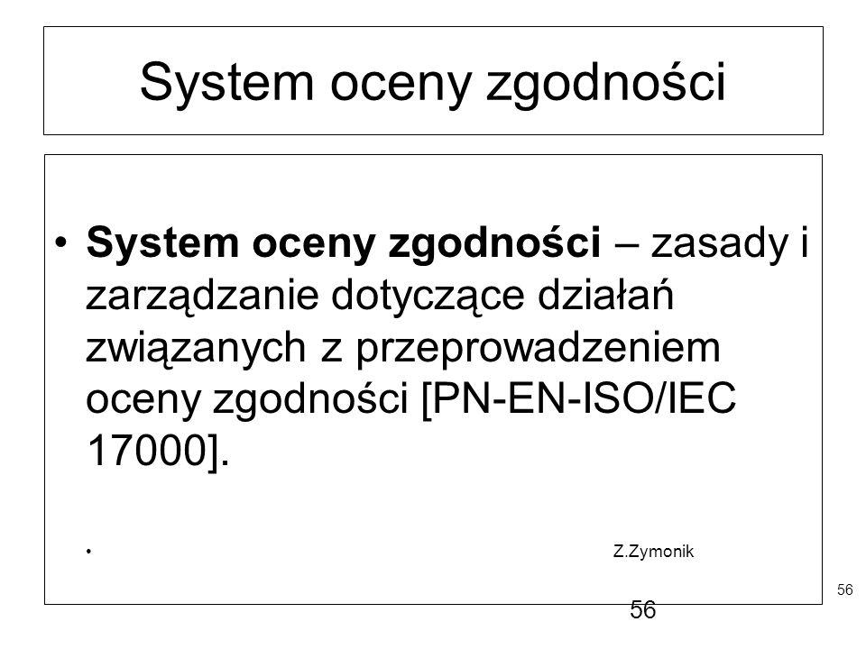 System oceny zgodności