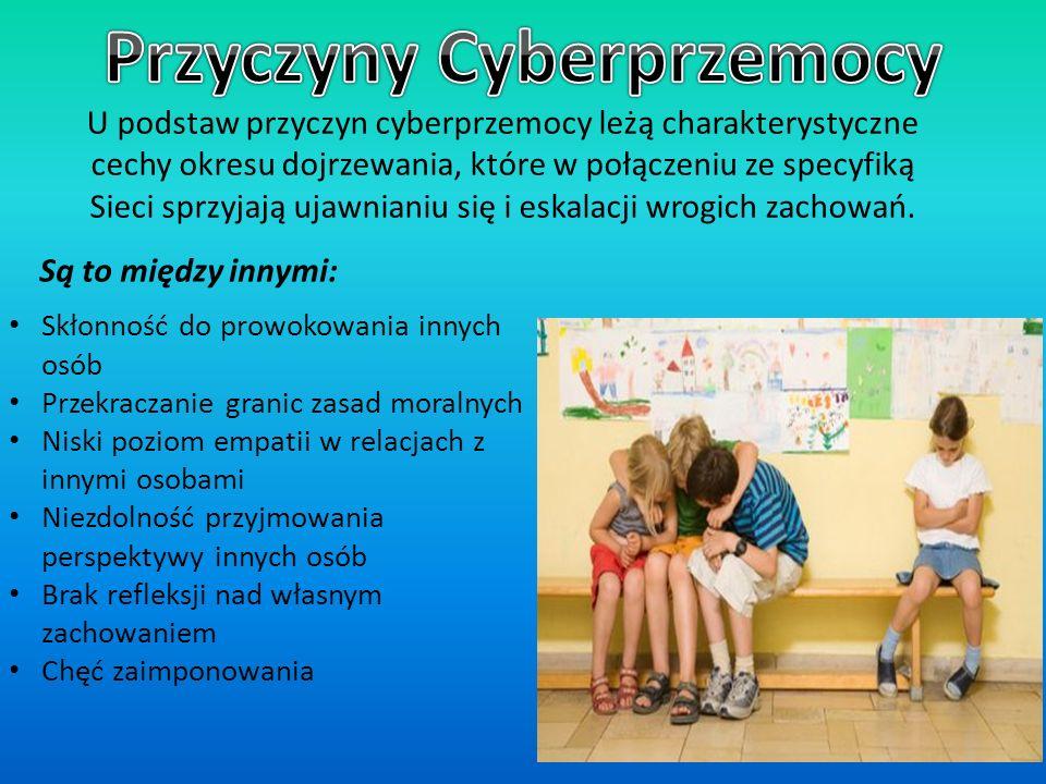 Przyczyny Cyberprzemocy