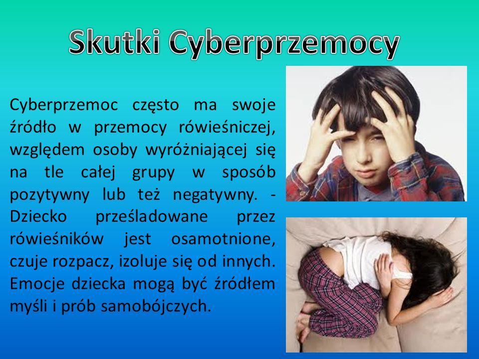 Skutki Cyberprzemocy