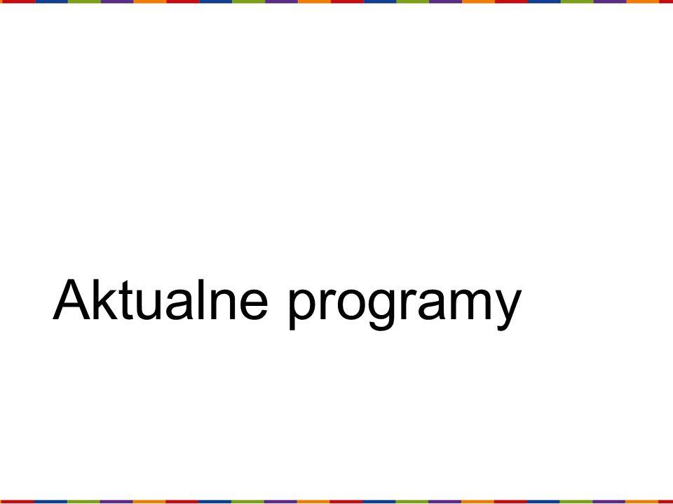 Aktualne programy