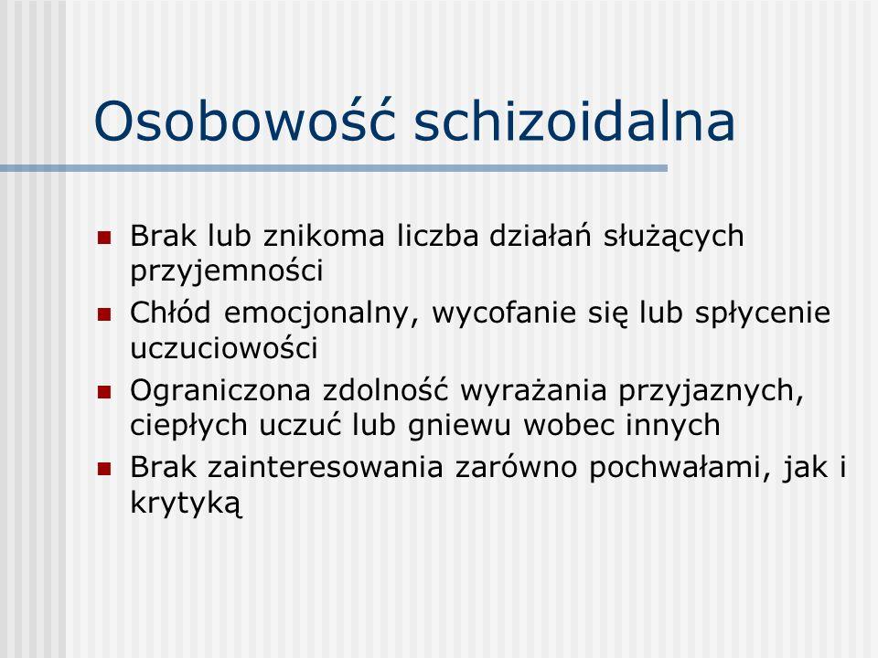 Osobowość schizoidalna