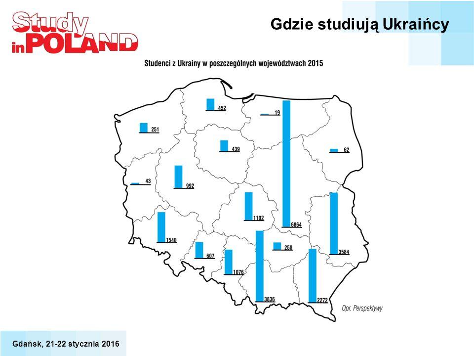 Gdzie studiują Ukraińcy
