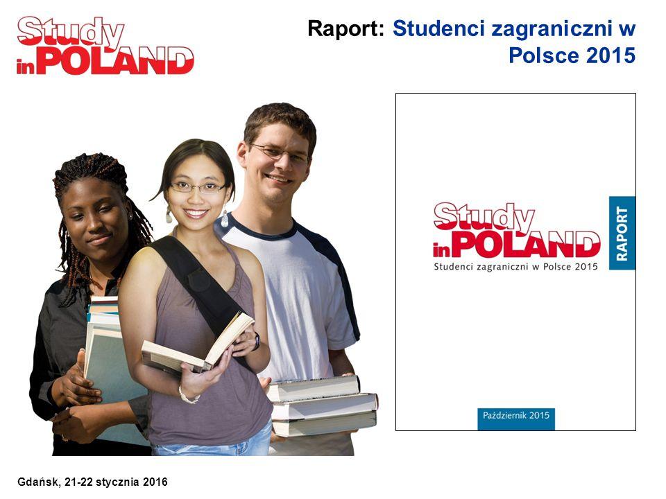 Raport: Studenci zagraniczni w Polsce 2015