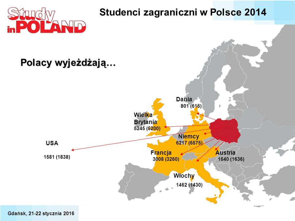 Studenci zagraniczni w Polsce 2014