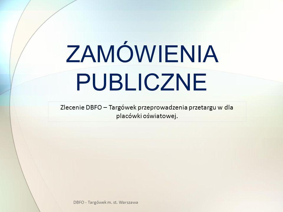 DBFO - Targówek m. st. Warszawa