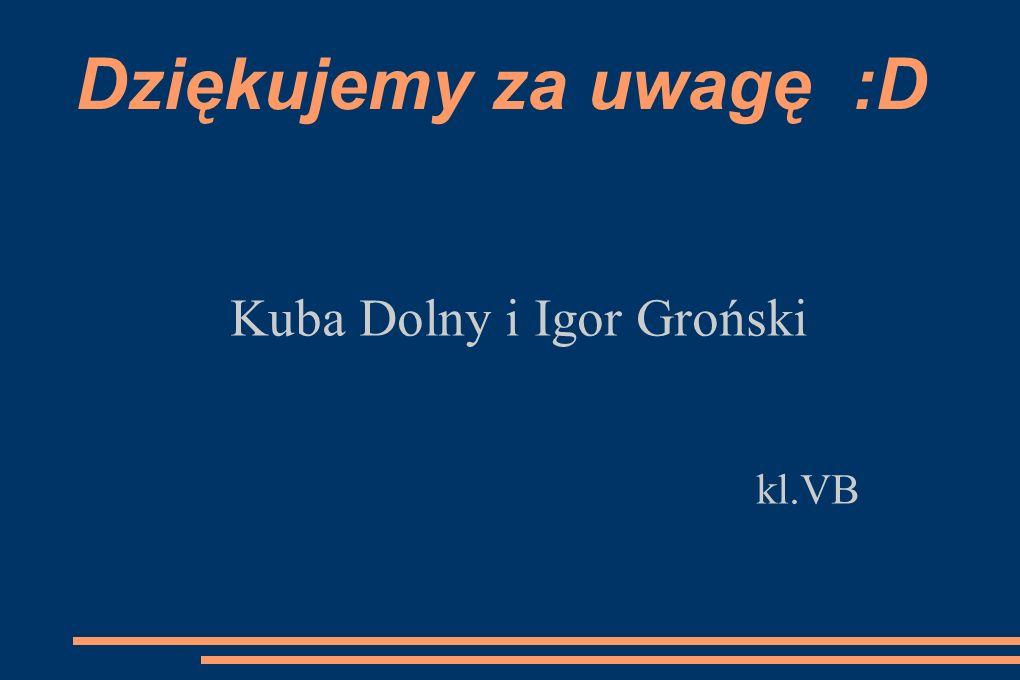 Kuba Dolny i Igor Groński kl.VB
