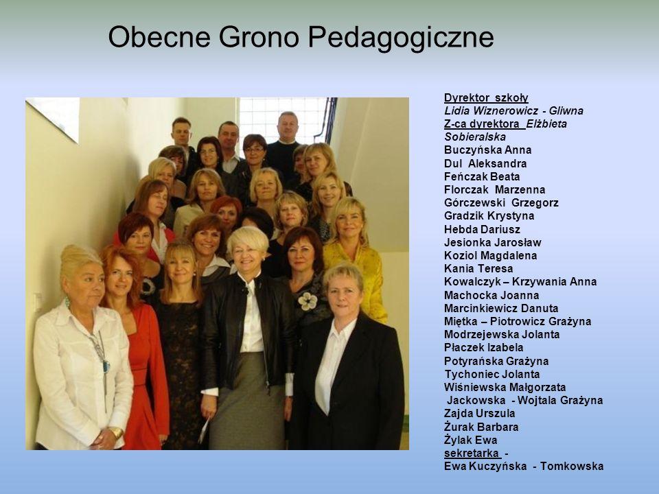 Obecne Grono Pedagogiczne