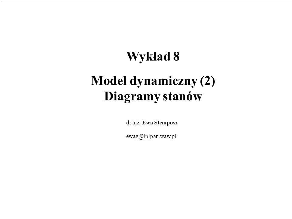 Wykład 8 Model dynamiczny (2)