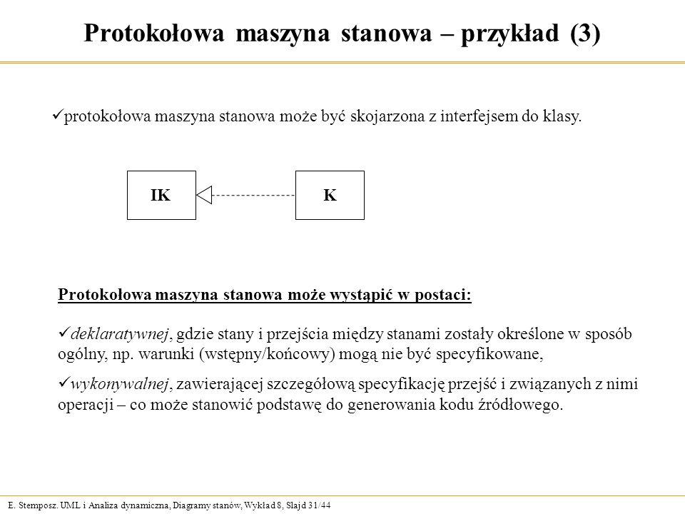 Protokołowa maszyna stanowa – przykład (3)