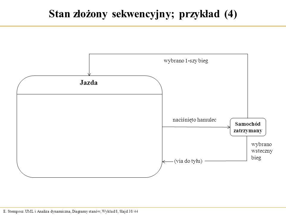 Stan złożony sekwencyjny; przykład (4)