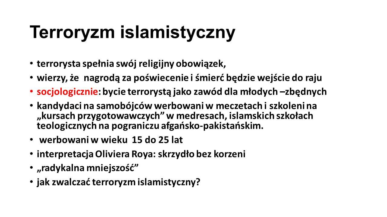 Terroryzm islamistyczny