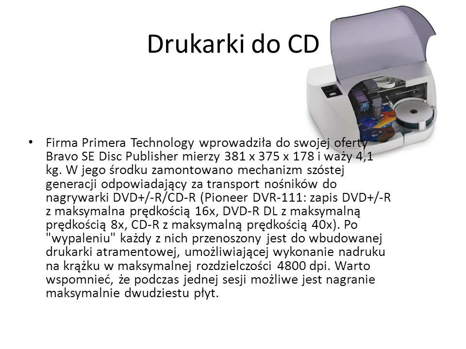 Drukarki do CD