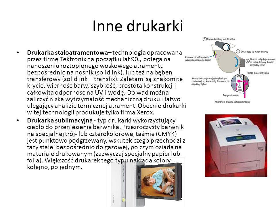 Inne drukarki