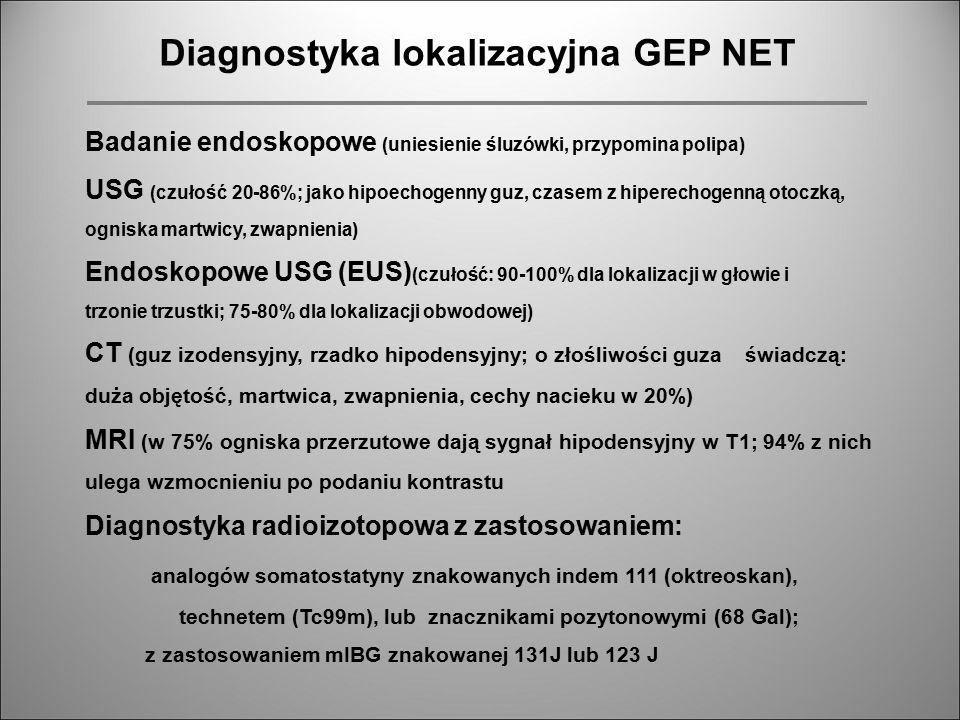 Diagnostyka lokalizacyjna GEP NET