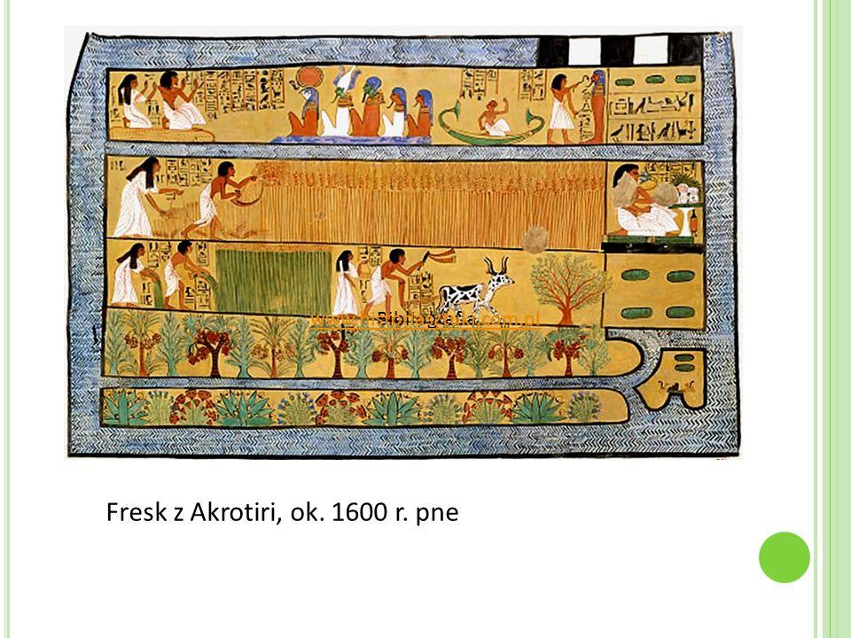 Fresk z Akrotiri, ok. 1600 r. pne