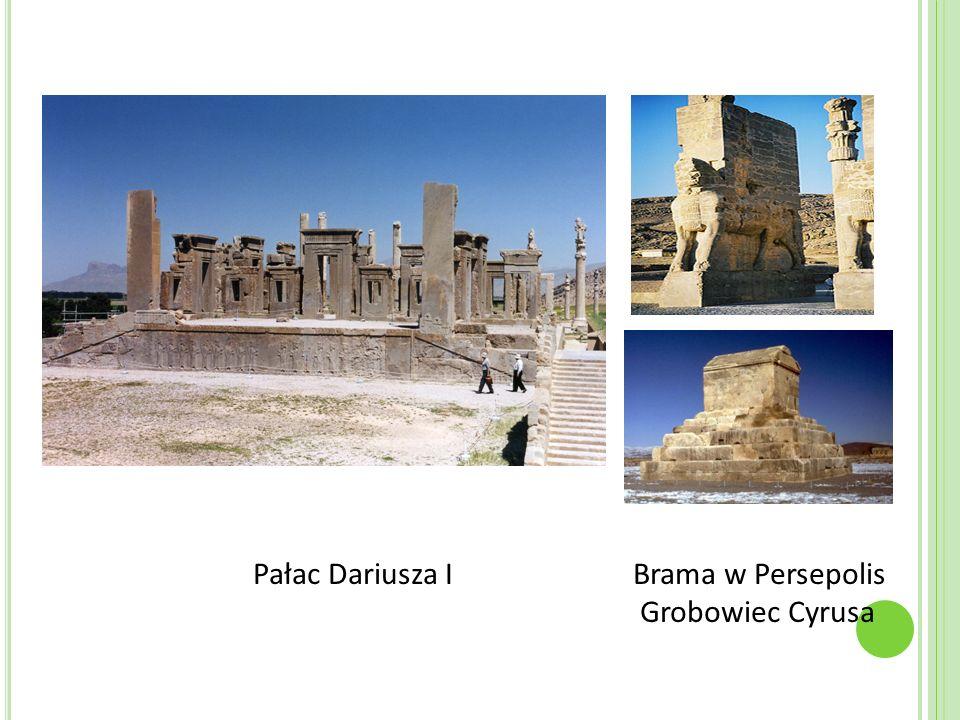 Pałac Dariusza I Brama w Persepolis