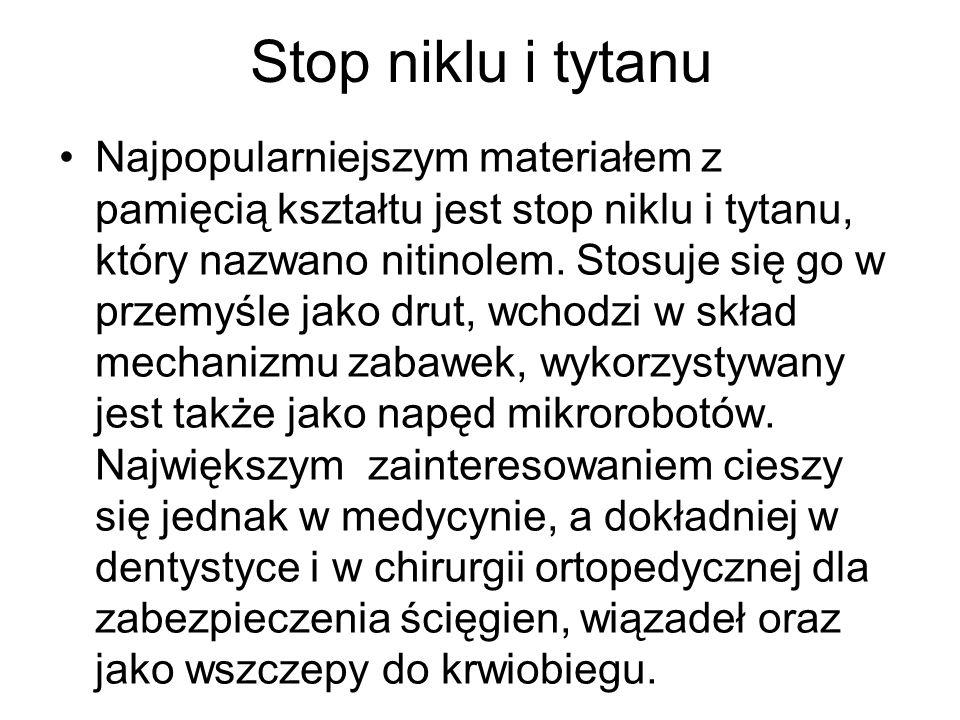 Stop niklu i tytanu