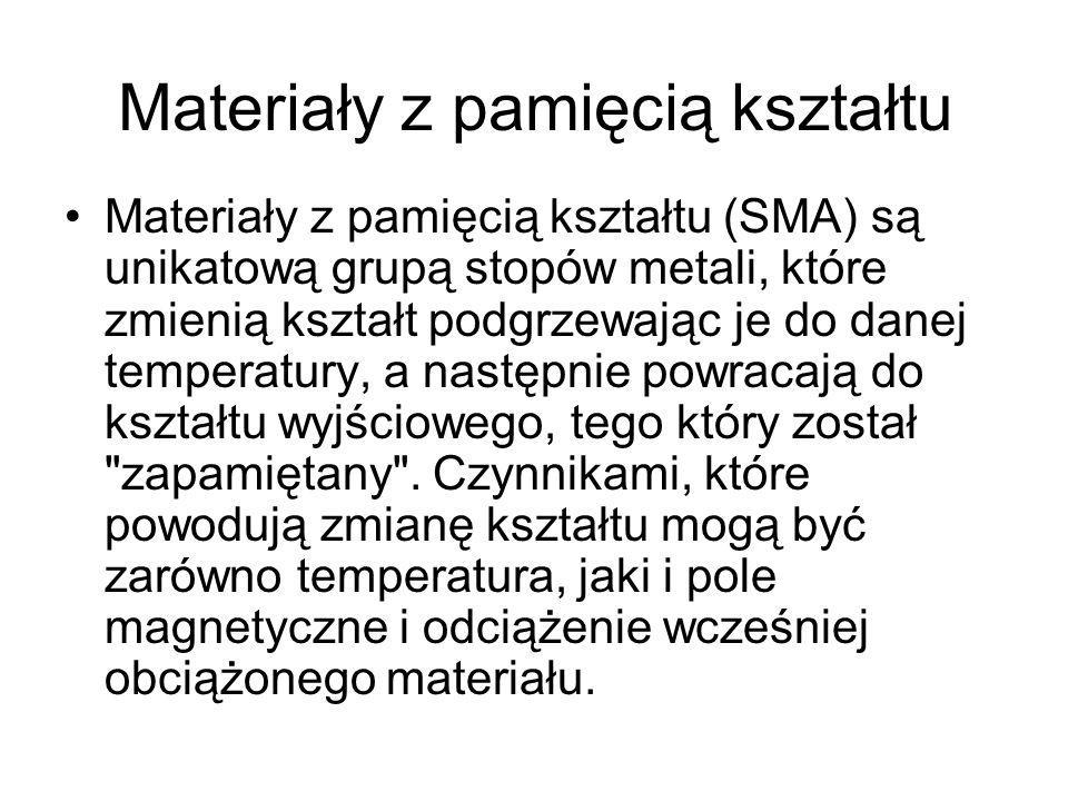 Materiały z pamięcią kształtu