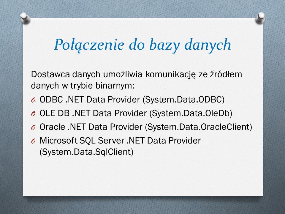 Połączenie do bazy danych