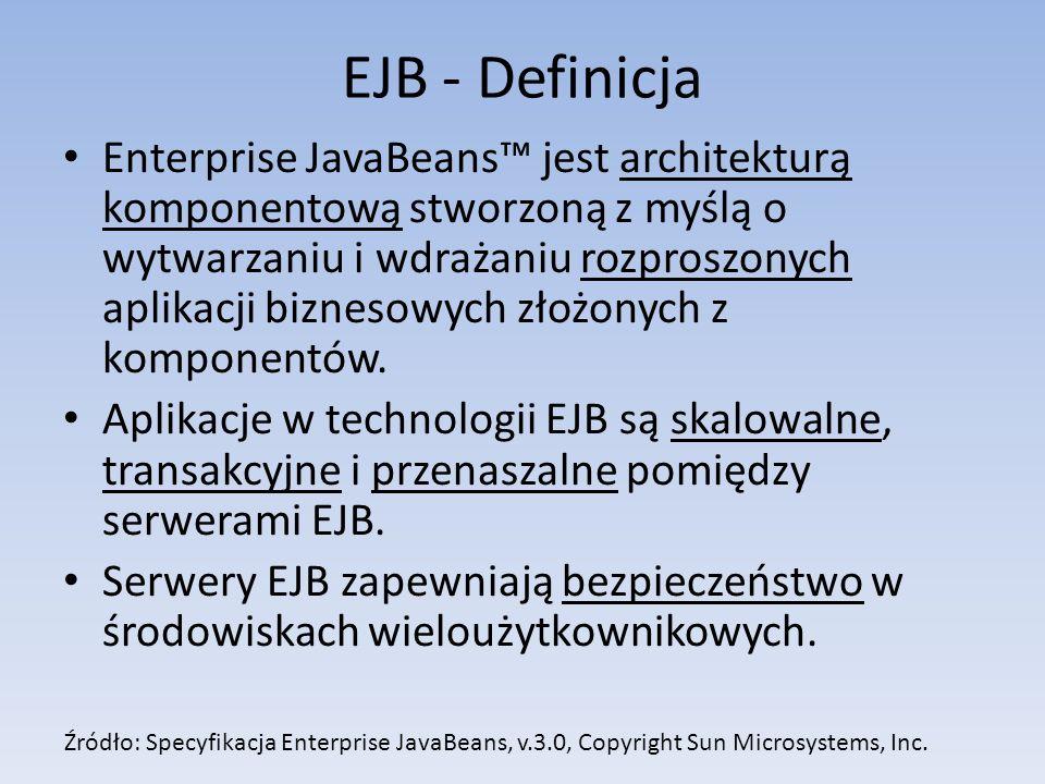 EJB - Definicja