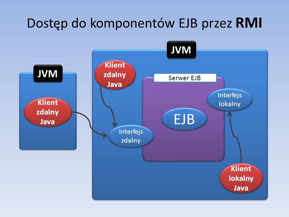 Dostęp do komponentów EJB przez RMI