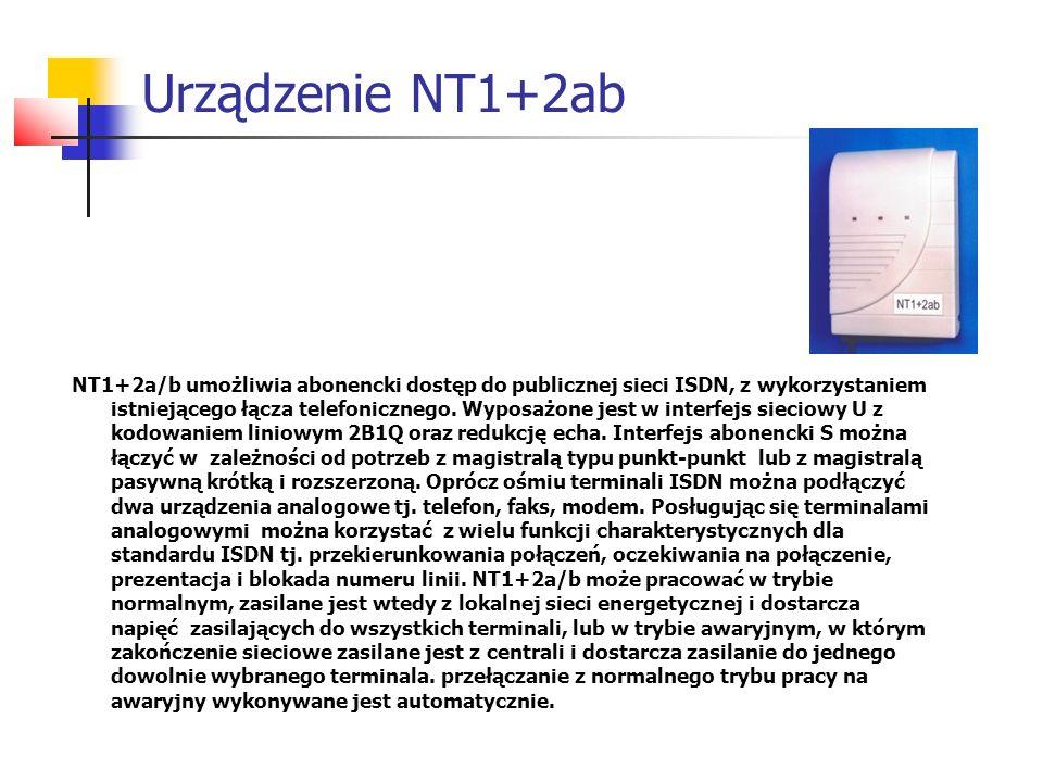 Urządzenie NT1+2ab