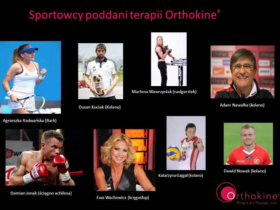 Sportowcy poddani terapii Orthokine®
