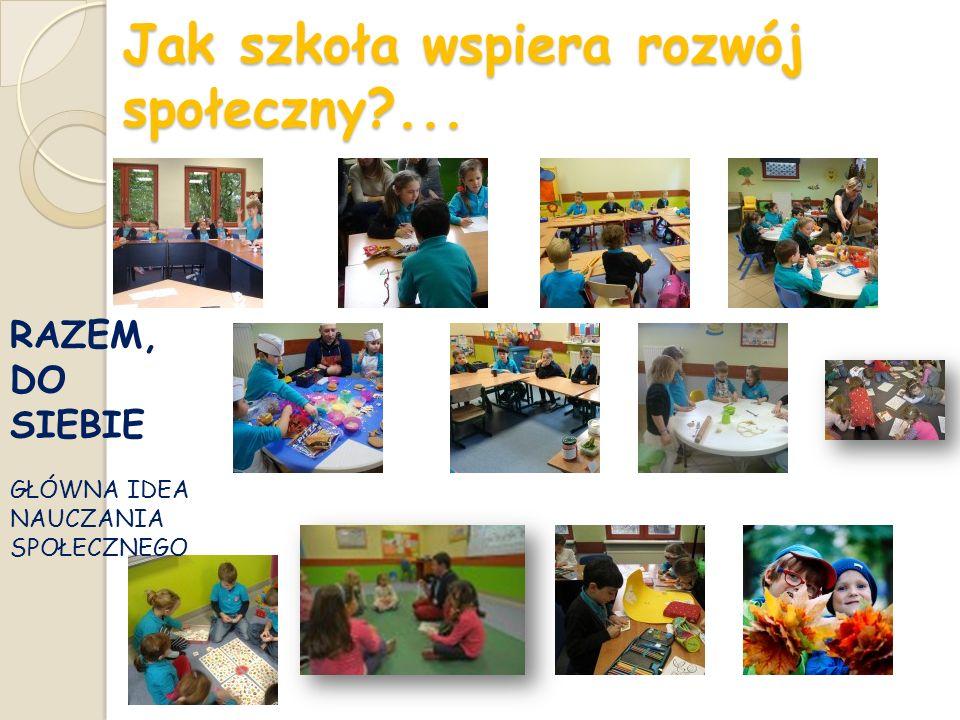 Jak szkoła wspiera rozwój społeczny ...