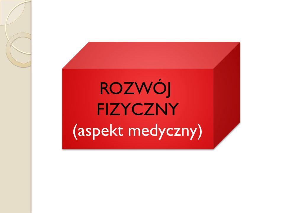 ROZWÓJ FIZYCZNY (aspekt medyczny)