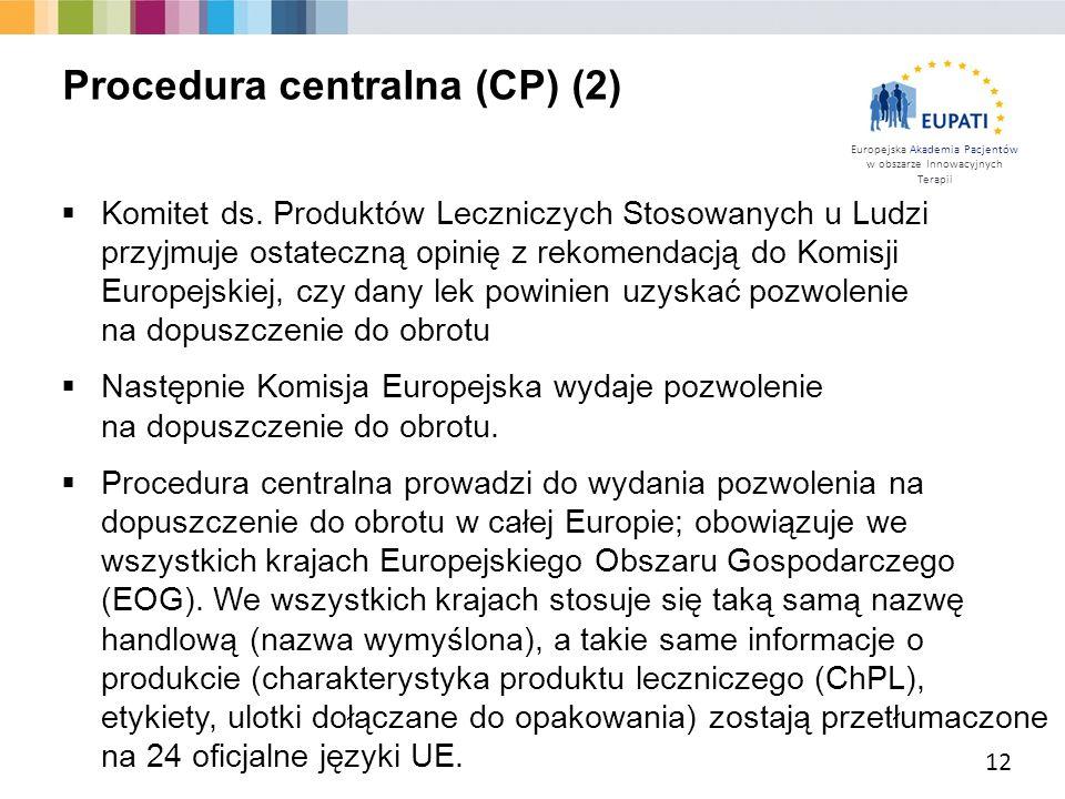 Procedura centralna (CP) (2)
