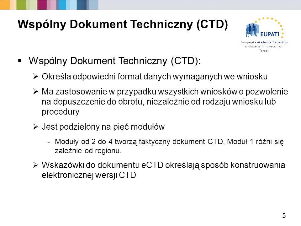 Wspólny Dokument Techniczny (CTD)