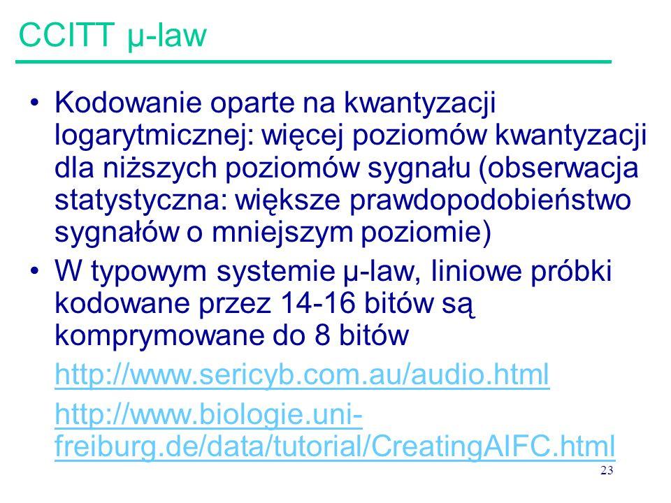 CCITT μ-law