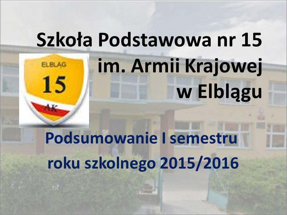 Szkoła Podstawowa nr 15 im. Armii Krajowej w Elblągu