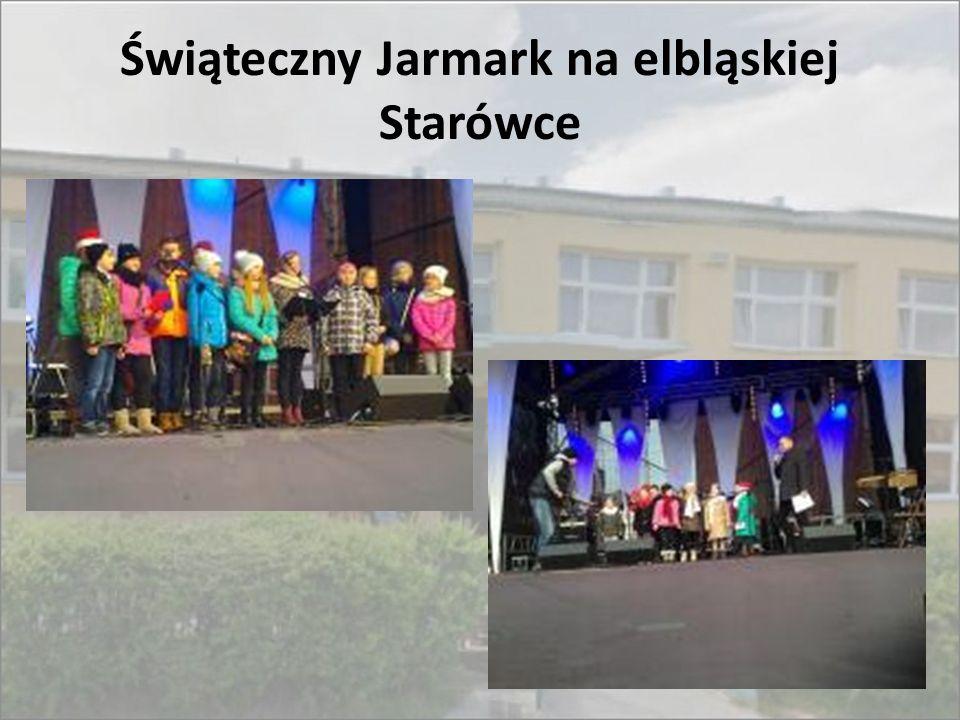 Świąteczny Jarmark na elbląskiej Starówce