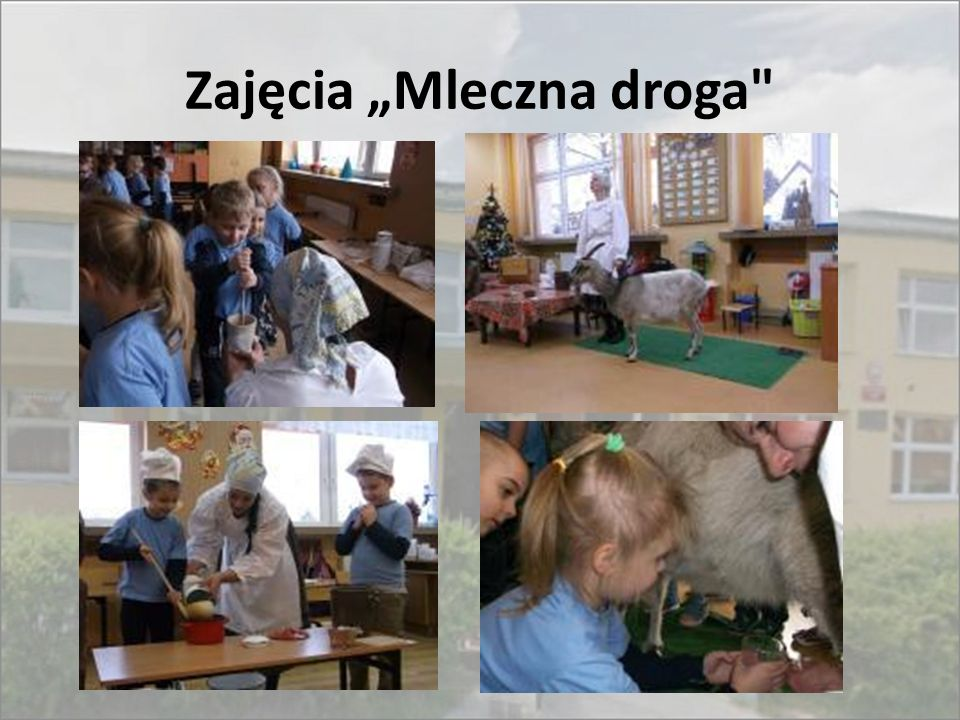 """Zajęcia """"Mleczna droga"""