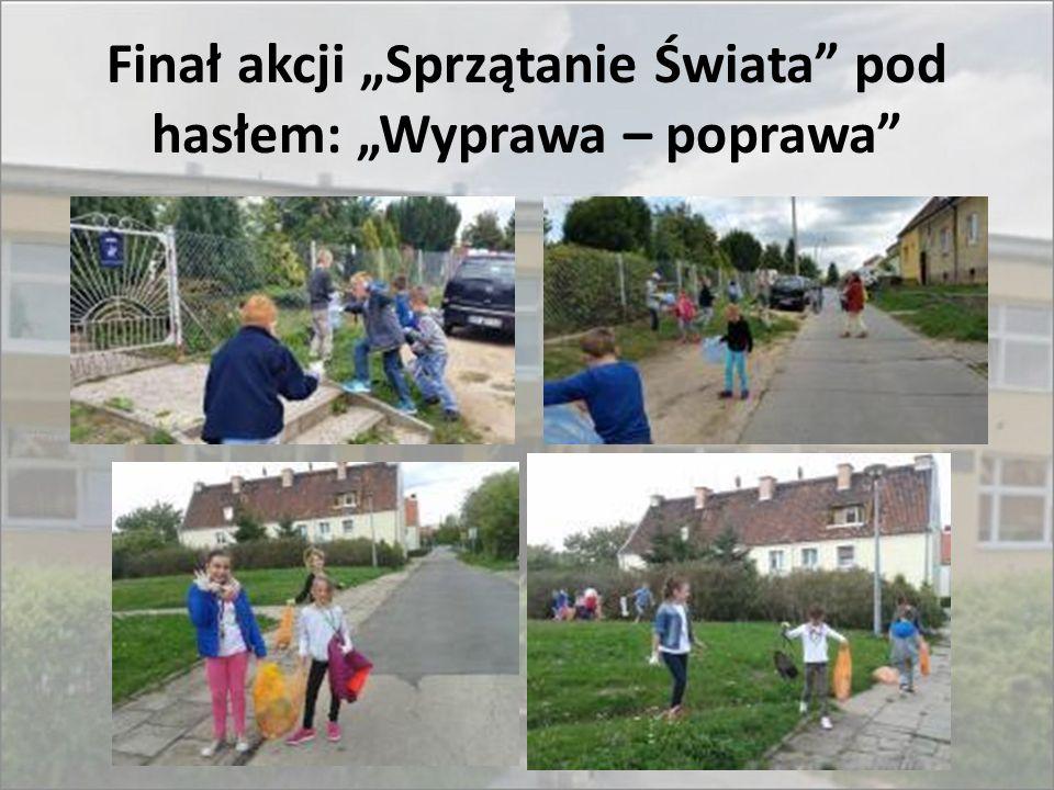 """Finał akcji """"Sprzątanie Świata pod hasłem: """"Wyprawa – poprawa"""