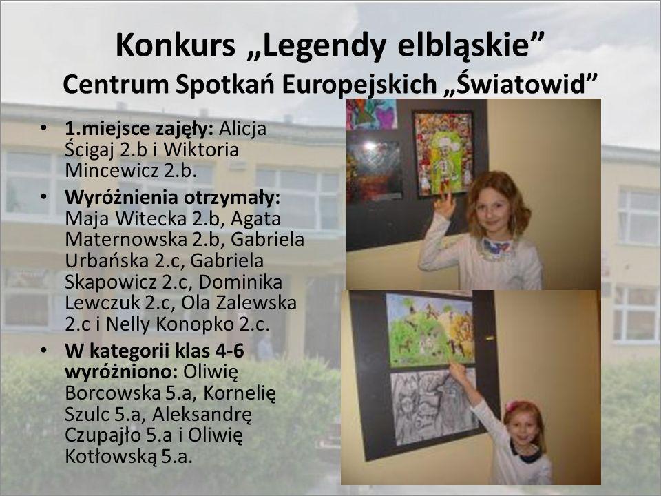 """Konkurs """"Legendy elbląskie Centrum Spotkań Europejskich """"Światowid"""