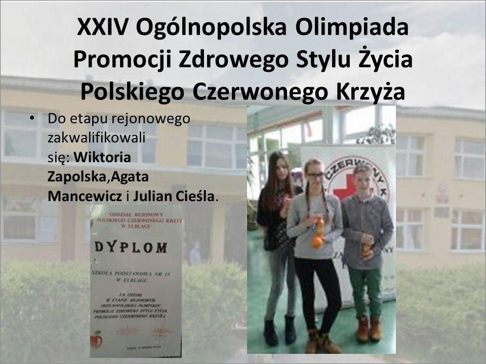 XXIV Ogólnopolska Olimpiada Promocji Zdrowego Stylu Życia Polskiego Czerwonego Krzyża